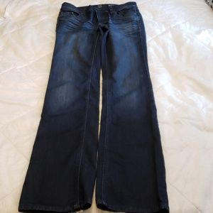 New York & Company Jeans - NY&Co. Low Rise Boot Cut Jeans Womens 0